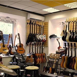 Музыкальные магазины Промышленной